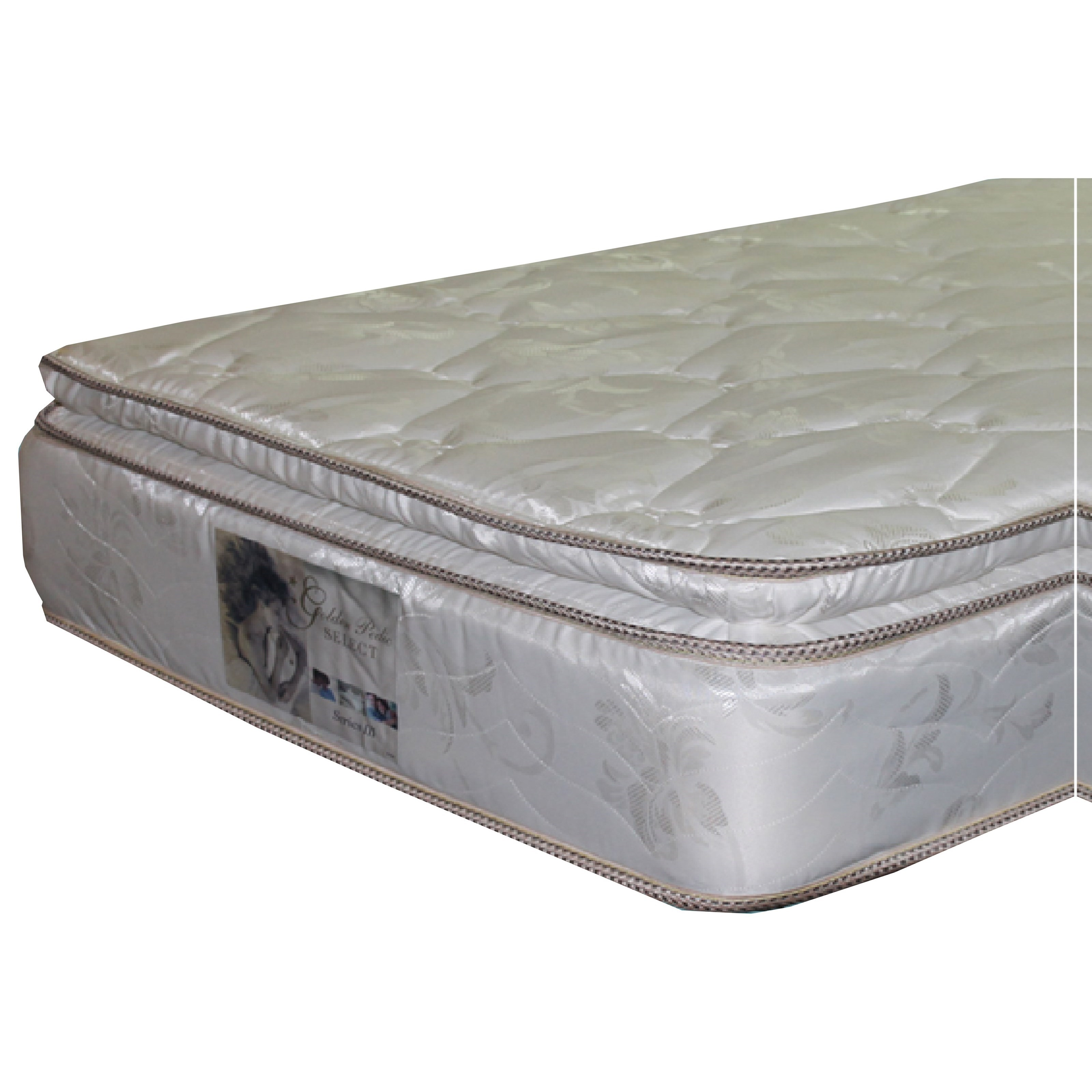 Golden Mattress Company 5-Series III PT Queen Pillow Top Mattress - Item Number: 5-SeriesIIIPT-Q