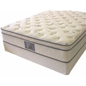 Golden Mattress Company Energie Twin Euro Top Mattress Set