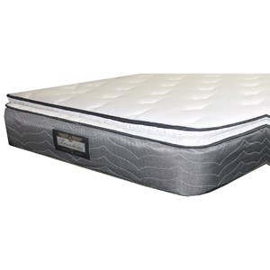 "Golden Mattress Company Freedom Foam Encased PT King 12"" Pillow Top Mattress"