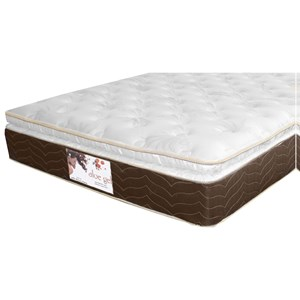 Golden Mattress Company Gel-Cool Aloe Gel Pillow Top King Gel Memory Foam, Innerspring Mattress