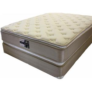 Golden Mattress Company Ortho Support 5000 Queen Pillow Top Mattress Set