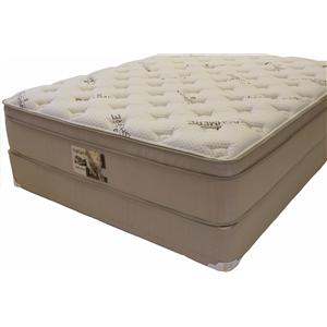 Golden Mattress Company Reflection Latex Queen Euro Top Mattress Set