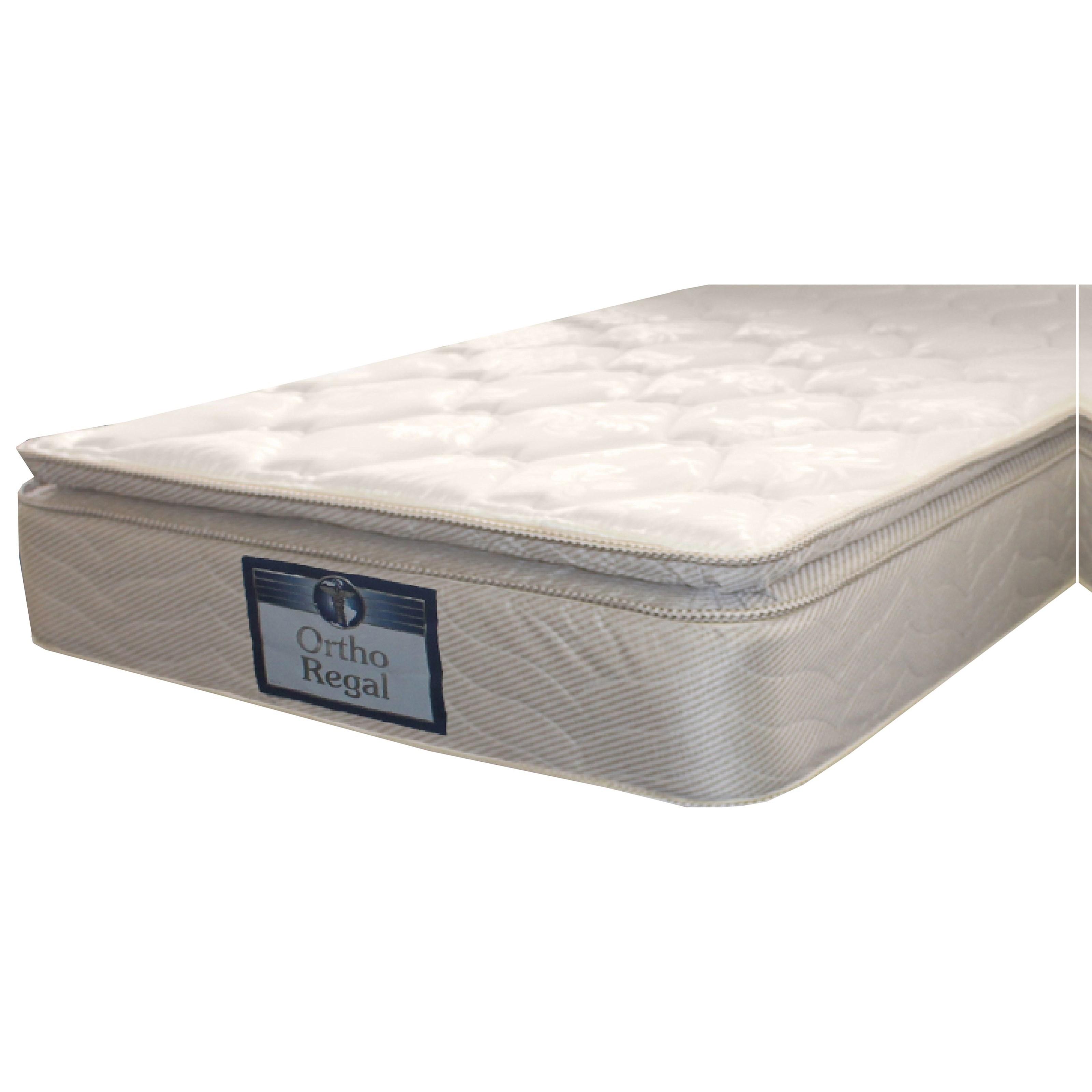Twin Plush Pillow Top Mattress