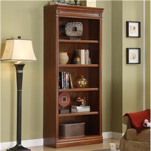 Golden Oak By Whalen Augusta Open Bookcase