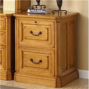 Golden Oak by Whalen Cambria 2 Drawer File-FLOOR MODEL ONE ONLY!