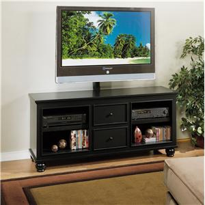 golden oak by whalen hampton bay 60 inch console with swivel unit - Rooms To Go Tv Stands