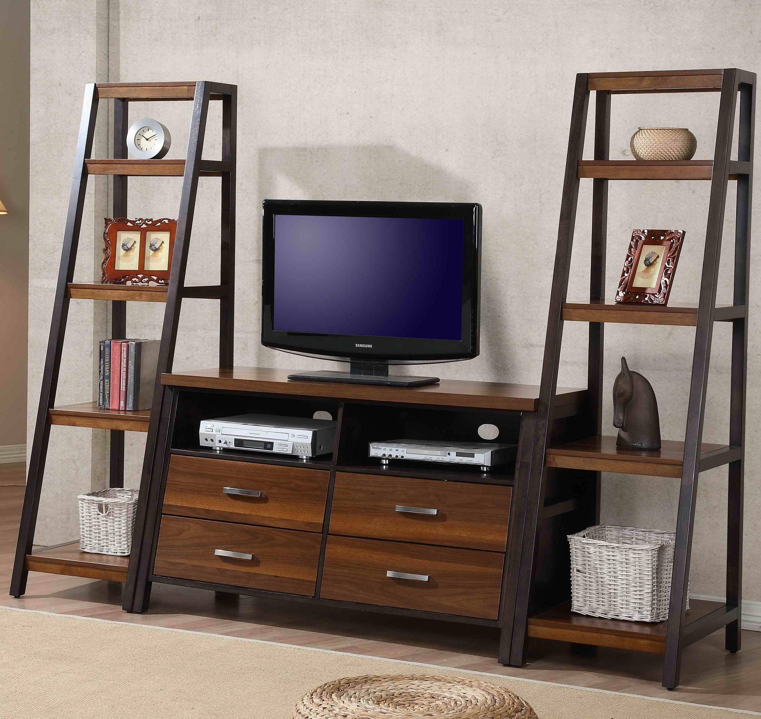 Whalen Waco Entertainment Wall Unit - Item Number: WAC-CS54+2xPU