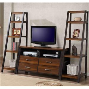 Whalen Waco Entertainment Wall Unit