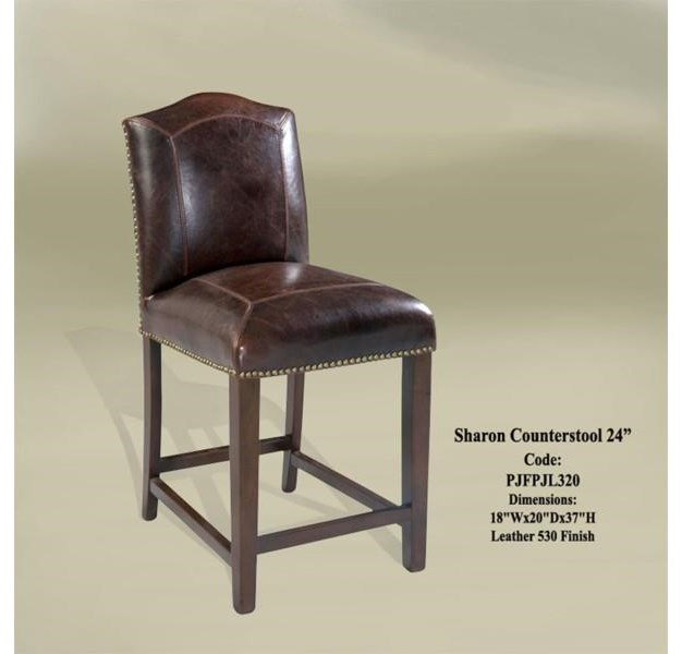 Sharon Counterstool leather
