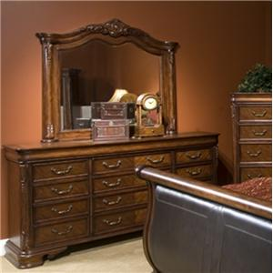 Great River Trading Co Montclair  Dresser & Mirror Combo