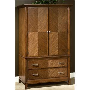Great River Trading Co Plaza  2 Door TV Armoire