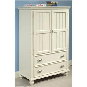 Great River Trading Co Laguna - Youth Door Chest with 2 Doors & 2 Storage Drawers