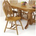 GS Furniture Classic Oak Monarch Side Chair - Item Number: CL102W01E5CH