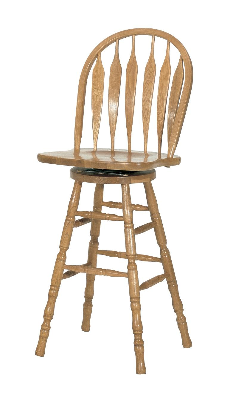 "30"" Casual Monarch Swivel Stool"