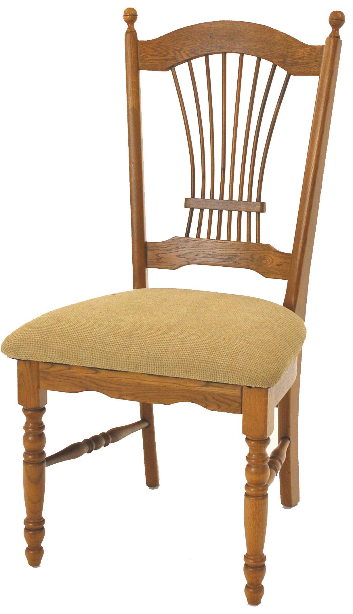 Sheaf Back Side Chair with Cushion