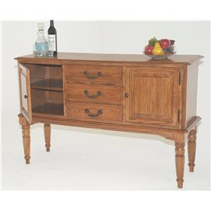 GS Furniture American Classic Server