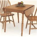 "GS Furniture Classic Oak Dropleaf Table with Two 9"" Leaves - Item Number: EW2C364584CH"