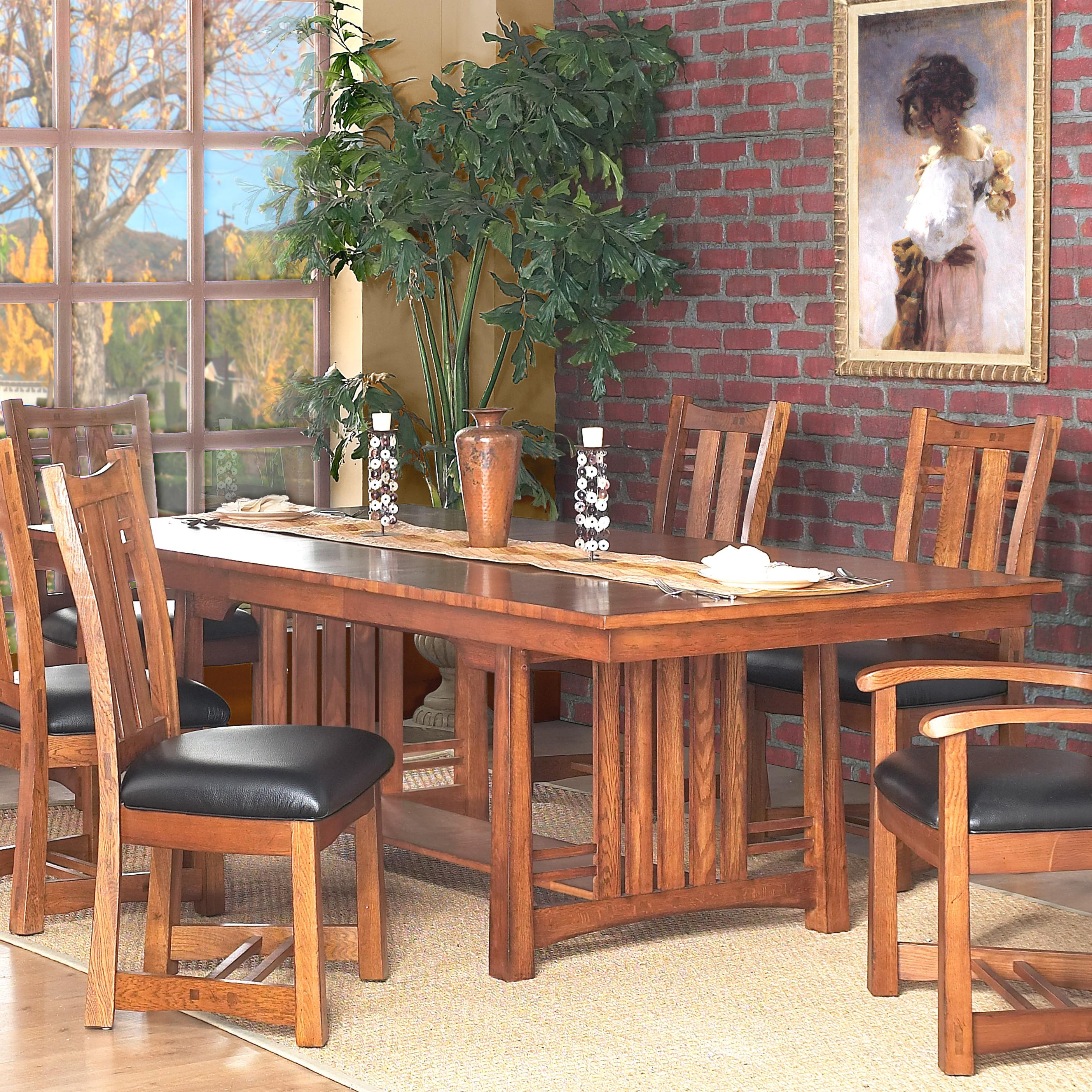Bungalow Furniture Store: GS Furniture Bungalow Rectangular Dining Table