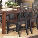 GS Furniture Riverside Slat Back Dining Side Chair