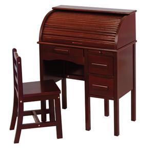 Guidecraft Junior Jr. Roll-Top Desk with Chair