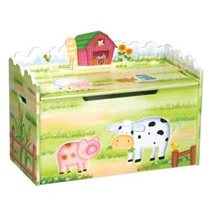 Guidecraft Little Farm House Toy Box