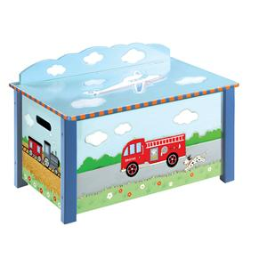 Guidecraft Transportation Toy Box