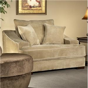 Fairmont Designs Cooper Minx Mocha Stationary Sofa With