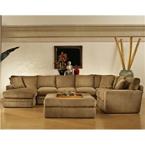 Fairmont Sectional Sofa Rs Gold