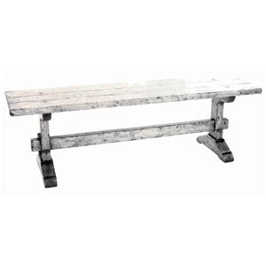 Guy Chaddock Melrose Custom Handmade Furniture Country English Trestle Bench