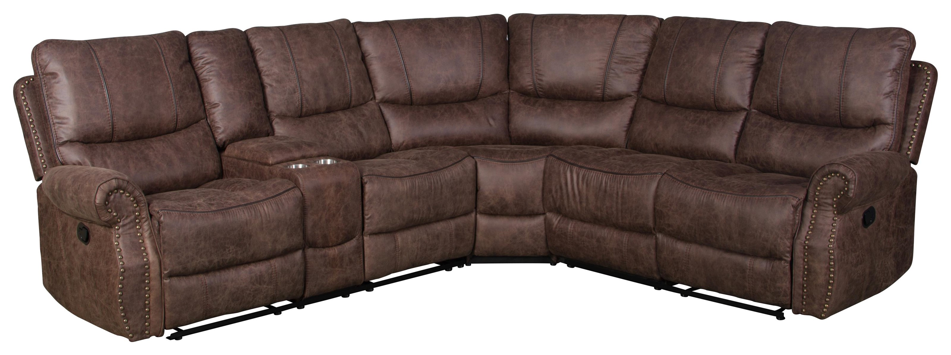 3 Piece Reclining Living Room Sectional