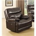 H317 Logistics 7282 Leather Match Recliner - Item Number: 140372828