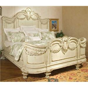 habersham beds florentina king bed with garland