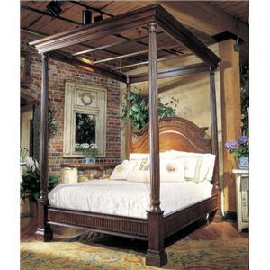 monet queen canopy bed