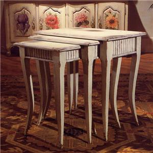 "Habersham Occasional Tables ""Louis V"" Nesting Tables"