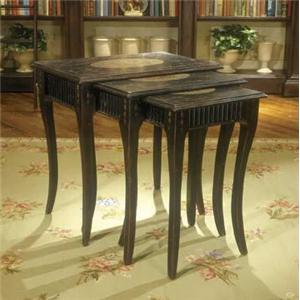 "Habersham Occasional Tables ""Oxfordshire"" Nesting Tables"
