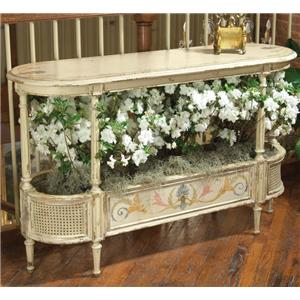 Decorated Vienna Console Table