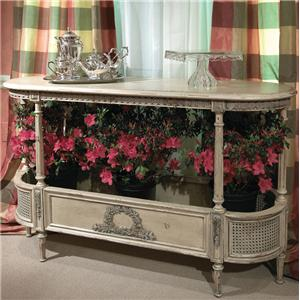 Carved Vienna Console Table