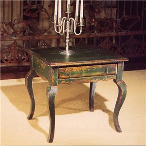 French Cottage End Table