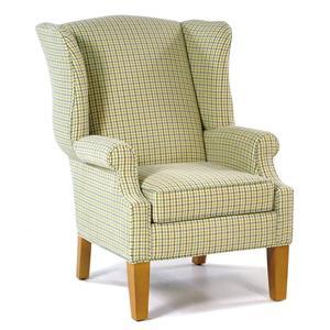 Hallagan Furniture Hamilton Wing Accent Chair