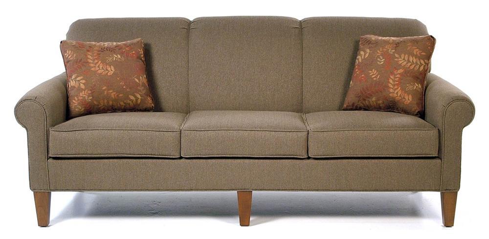 Great Hallagan Furniture Pembroke Sofa   Item Number: 814 LD SQ7