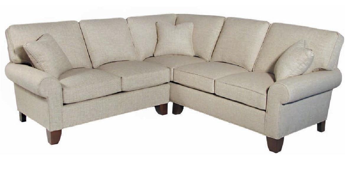 Hallagan Furniture Madison Customizable Sectional Old
