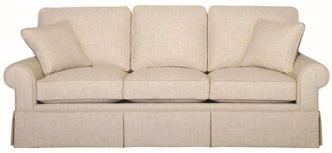 Hallagan Furniture Madison Three Cushion Sofa - Item Number: 74-LD