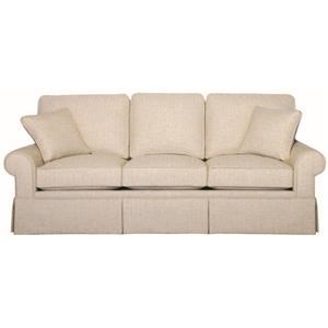 Hallagan Furniture Madison Three Cushion Sofa