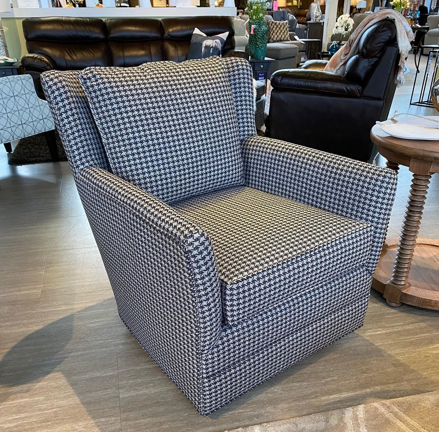 Accent Chairs Swivel Chair at Bennett's Furniture and Mattresses