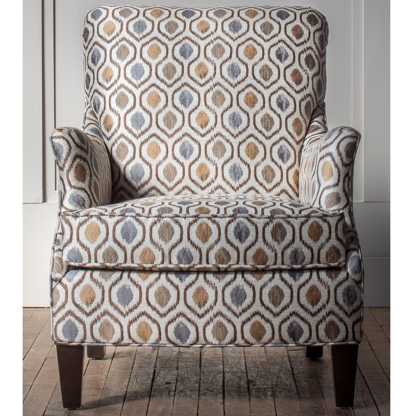 Accent Chairs Customizable Accent Chair by Hallagan Furniture at H.L. Stephens