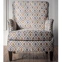 Hallagan Furniture Accent Chairs Customizable Accent Chair - Item Number: 174C-SQ6 4159