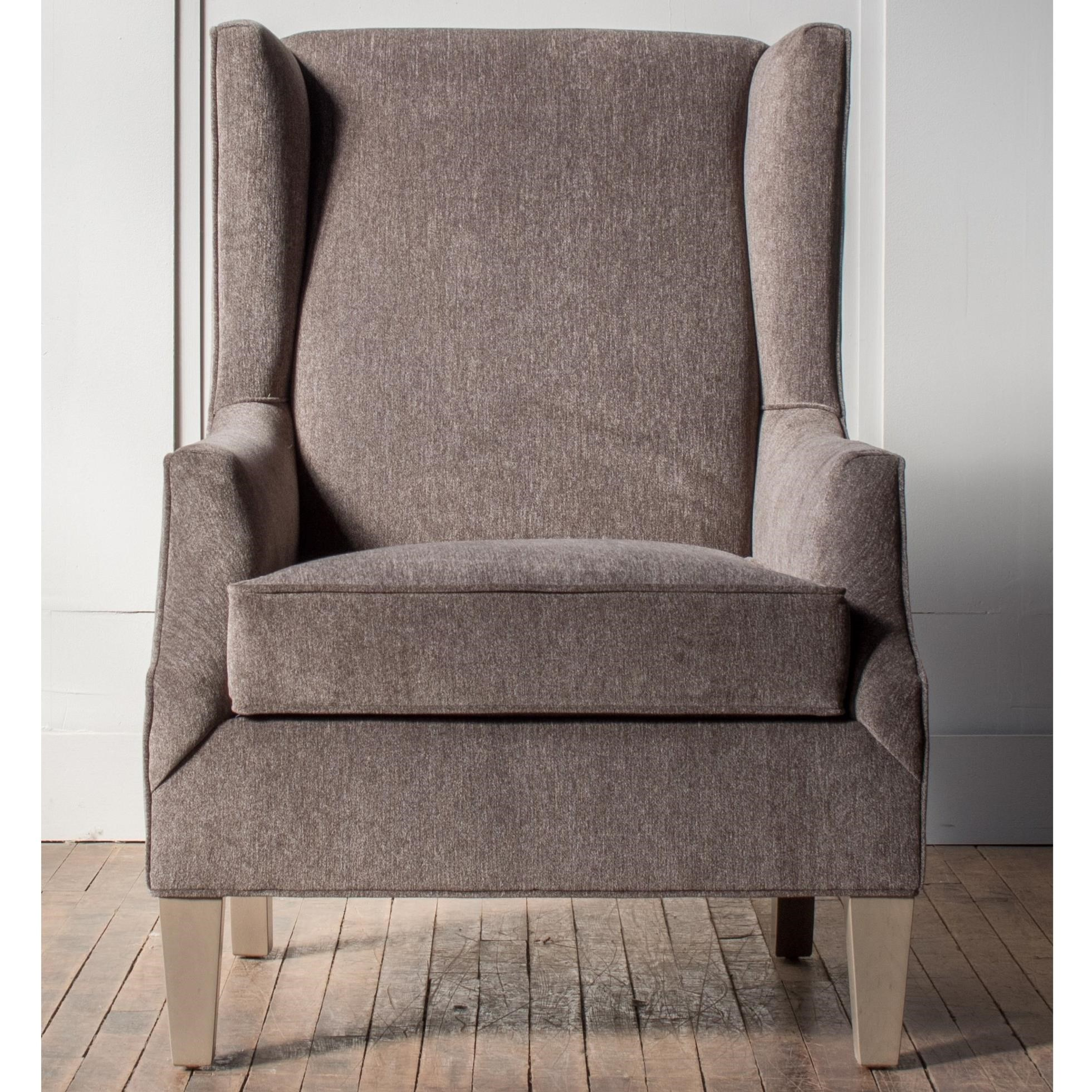 Accent Chairs Customizable Wing Back Accent Chair by Hallagan Furniture at H.L. Stephens