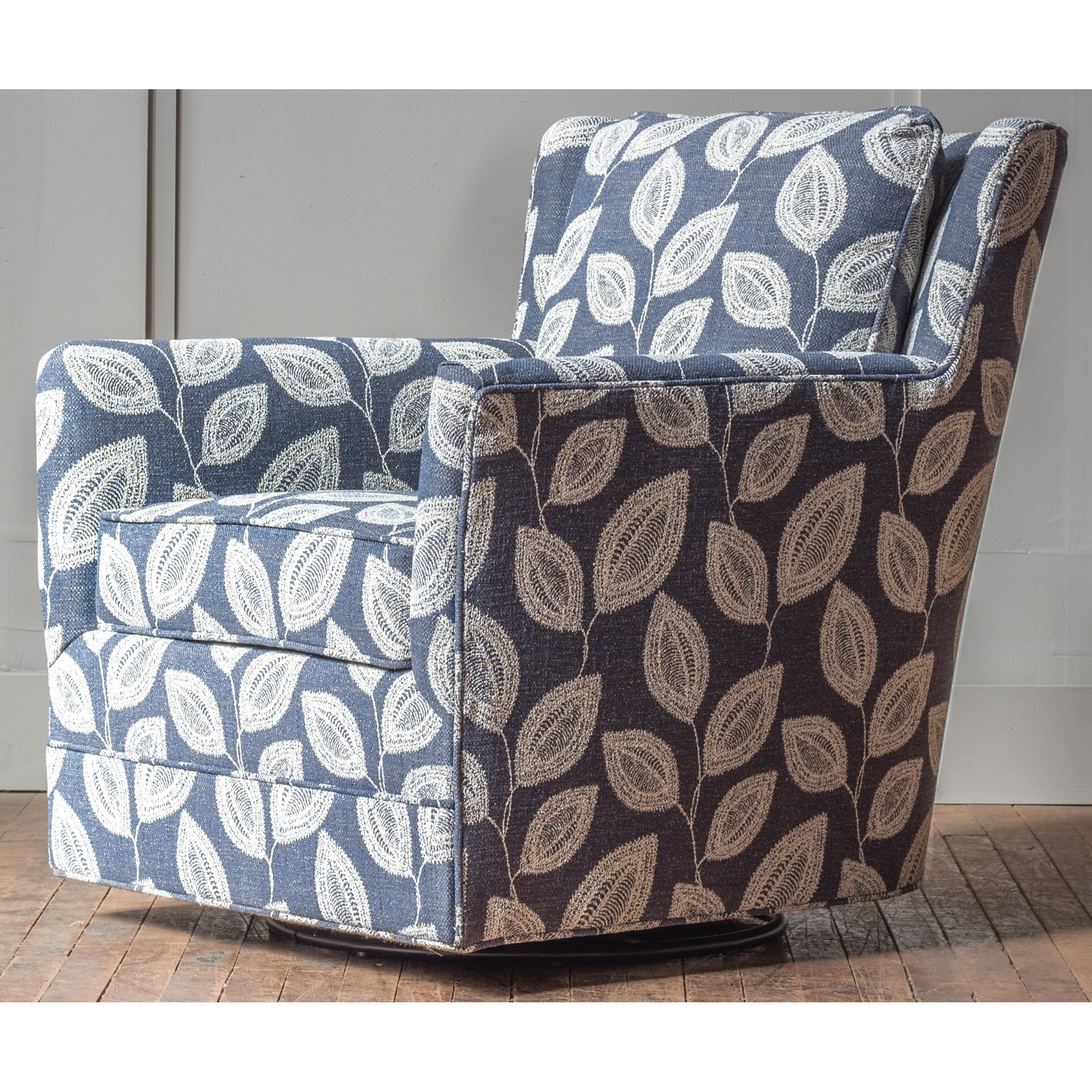 Accent Chairs Customizable Swivel Glider Accent Chair by Hallagan Furniture at H.L. Stephens