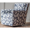Hallagan Furniture Accent Chairs Customizable Swivel Glider Accent Chair - Item Number: 342SGR 6987