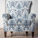 Hallagan Furniture Accent Chairs Customizable Accent Chair - Item Number: 374C-SQ6 6787